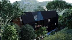 Render Diseño Arquitectónico Casa Martín