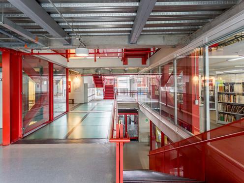 Escuela Internacional de Diseño y Comercio Lasalle College | MRV arquitectos + NOAH arquitectura