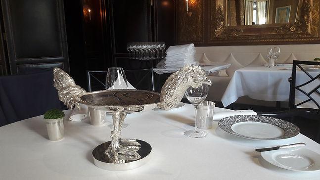 Art de la table Palaces parisiens par Arnold Ory