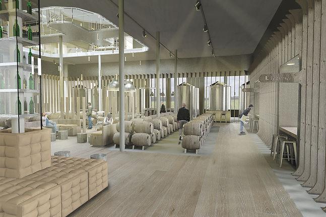 Architecture intérieur Fondation pour le vin d'Alsace Arnold Ory