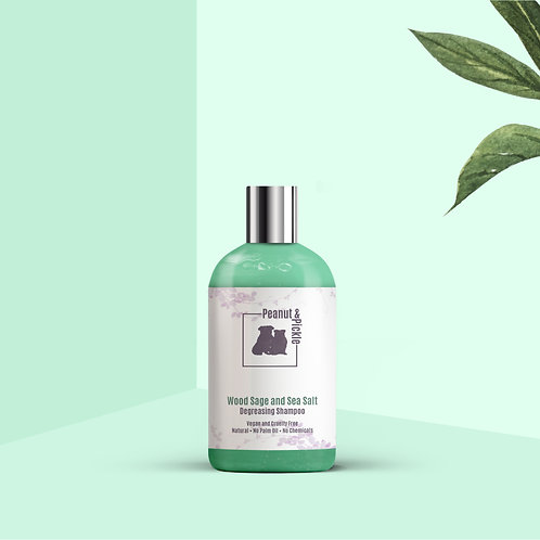 Wood Sage and Sea Salt Shampoo