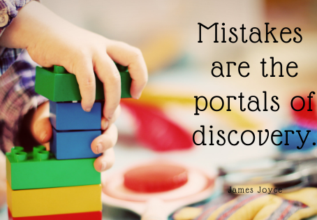 Mistakes are the Portal of Discovery