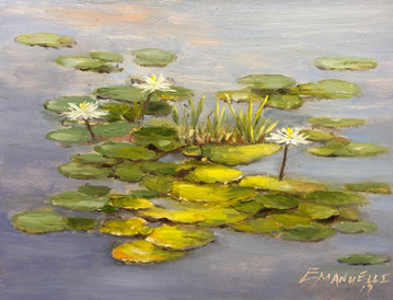 """""""Water Lilies Trio"""""""