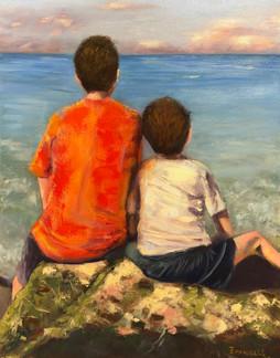 """""""Dos Hermanos y el Mar"""""""
