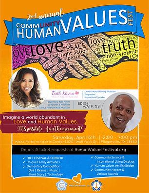 2019 Community Human Values Fest FLYER.j