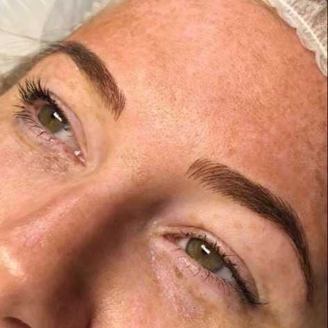 MicroBlading Alison Petitjean Darlington, Semi Permanent Eyebrows, Sombre Brows