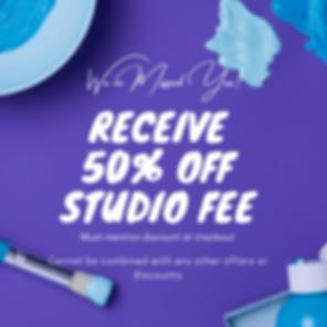 50% off studio fee.png
