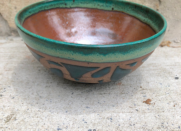 mason/emerald/leslie little bowl with loops