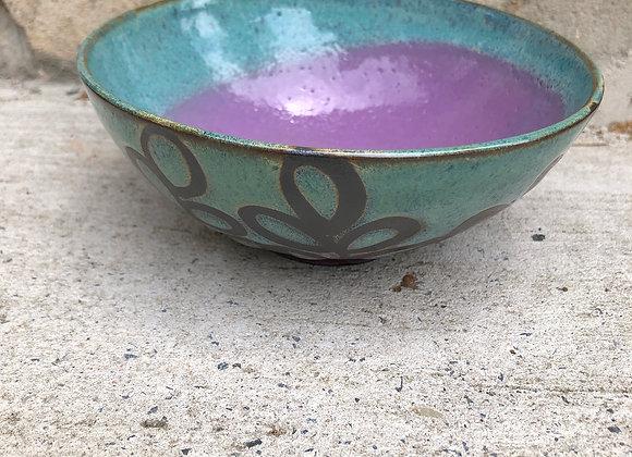 violet starshine small bowl