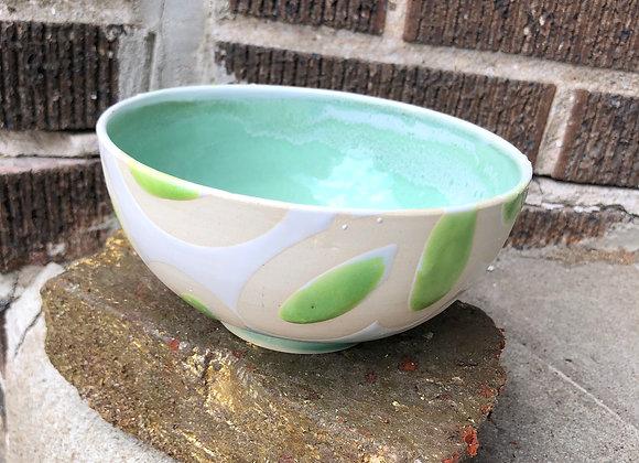 fern interior springy loop bowl