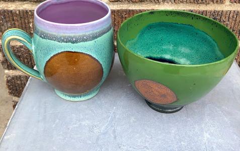 Dot Bowl and Dot Mug