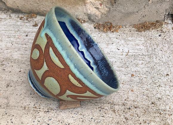 blue loop drippy little tim bowl