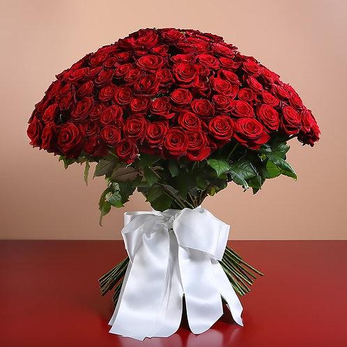 Букет из 201 красной розы №42