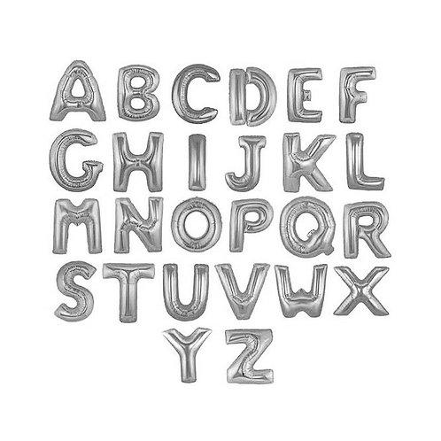Буквы (лат.) Серебро