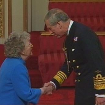 Eve Taylor meets Prince Charles