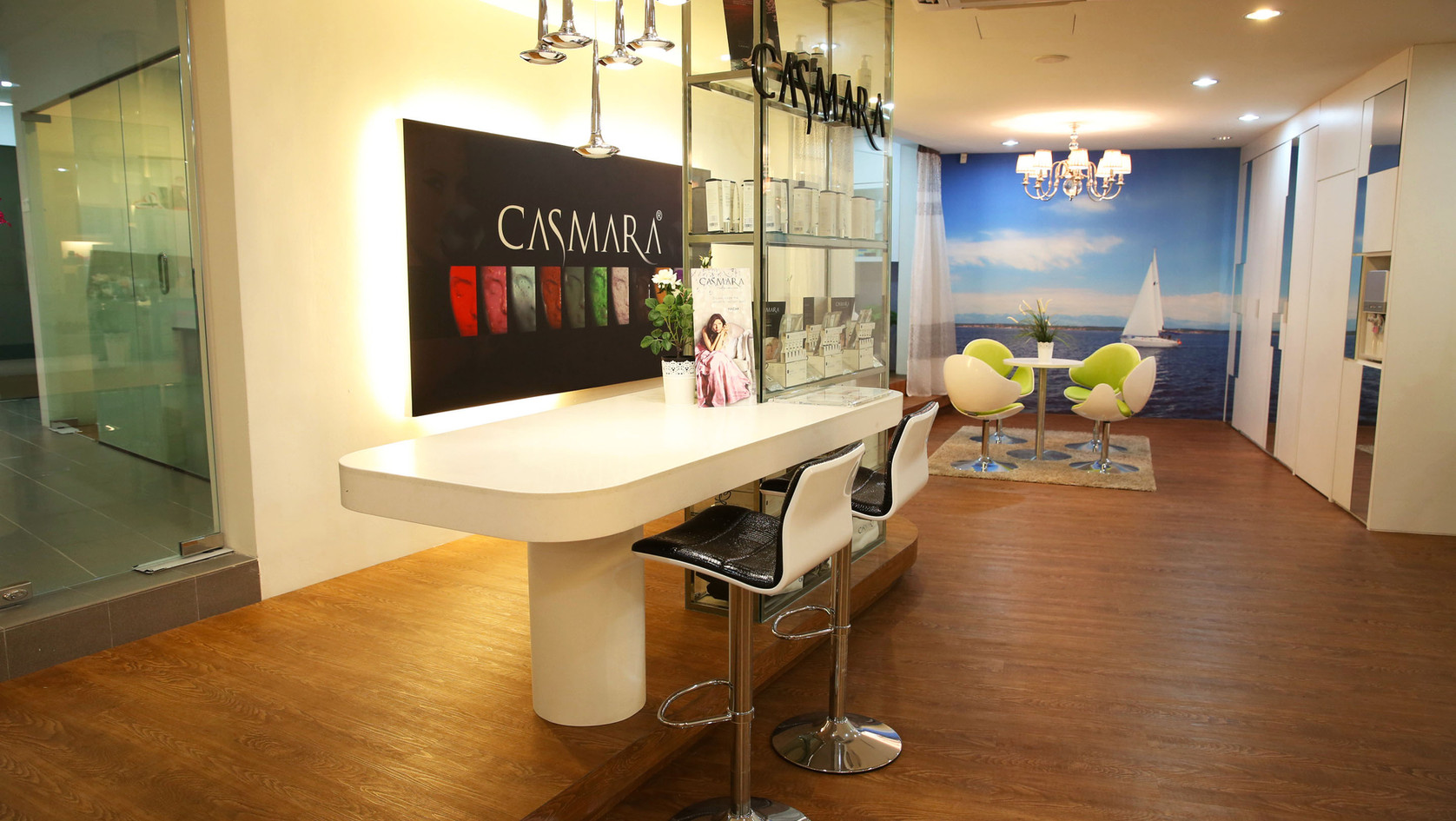 Casmara counter in PJ office