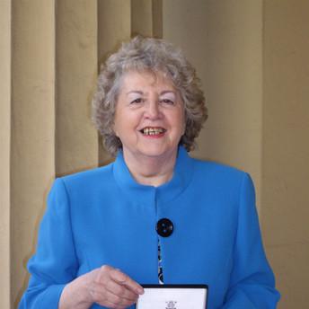 Eve Taylor At Buckingham Palace