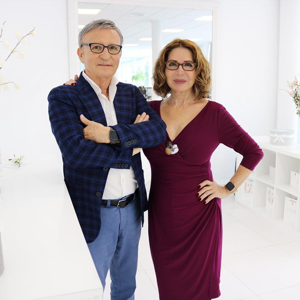 Casmara Founder Águeda García and José S