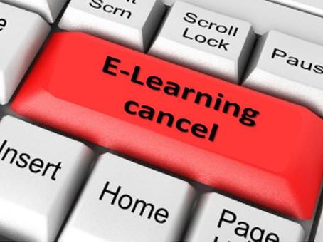 E-Learning gedoemd om te mislukken