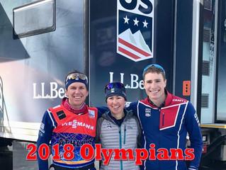 2018 Olympians