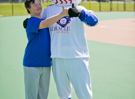 Grand Slam's First Miracle League Install