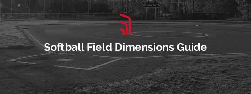 softball field dimensions guide