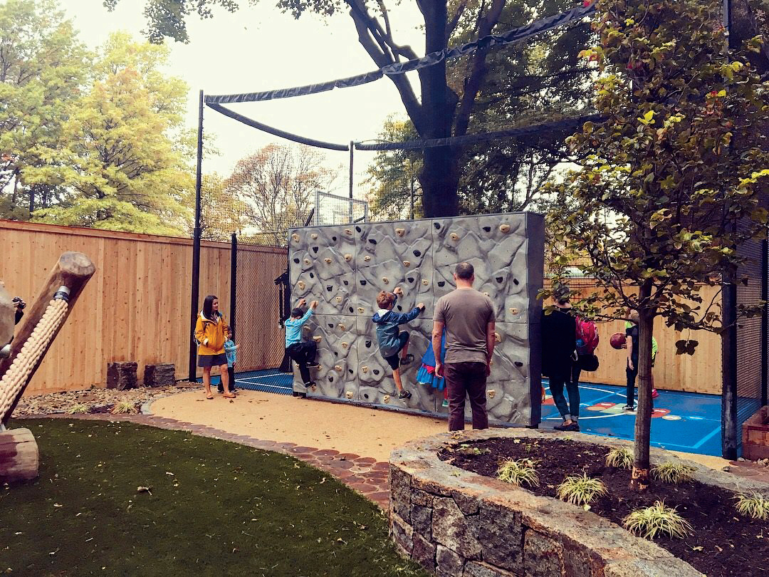 Outdoor Netting for Playgrounds