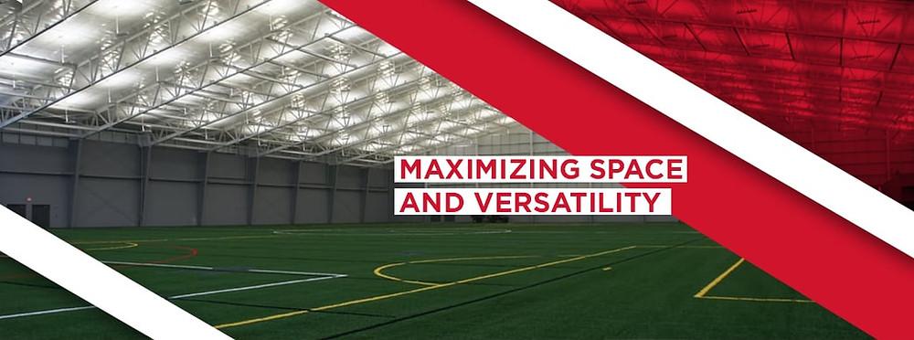 indoor soccer field design