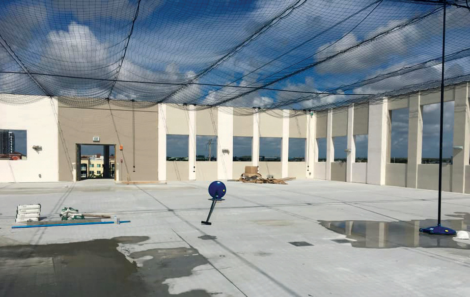 Outdoor Netting for Rooftops