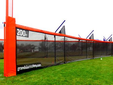New SPECTO Baseball & Softball Fencing System Install