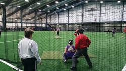 Indoor Netting for Baseball