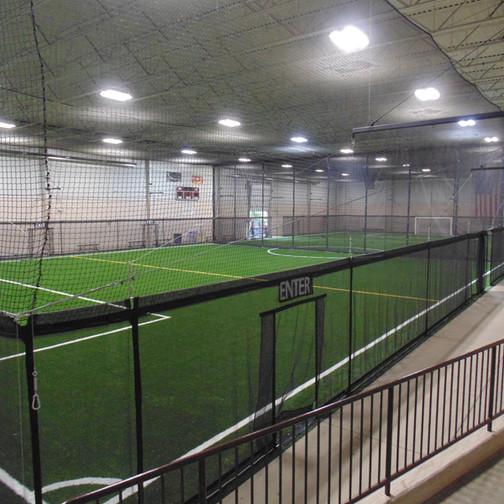 Indoor Perimeter Fencing