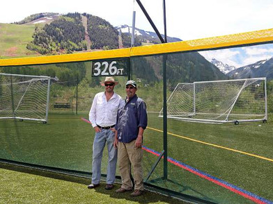 Aspen Rec Center's Iselin Field gets new state-of-the-art safety fence