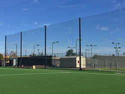 Outdoor Netting for Ball Containment