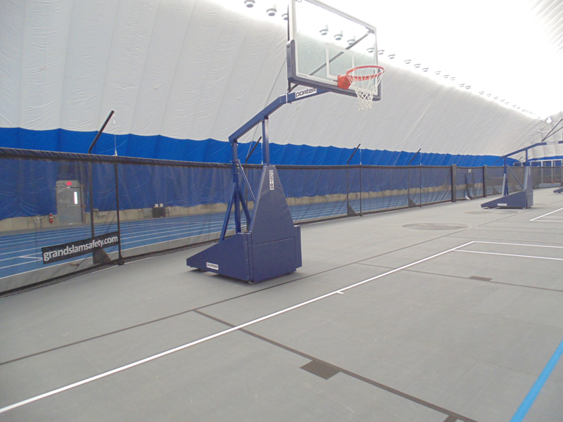 Basketball containment netting