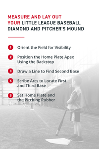 Measure and Lay Out Your Little League Baseball Diamond