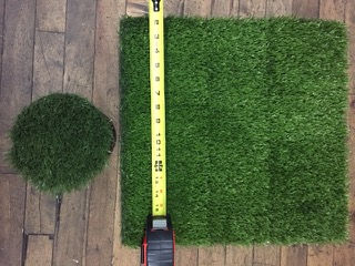 Turf Insert Size