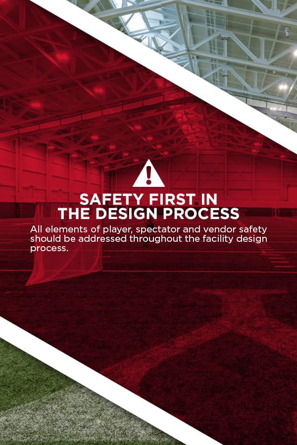 safety in sports complex design