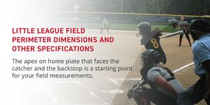 Little League Field Perimeter Dimensions