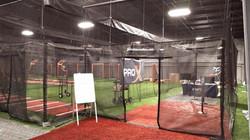 Multiple Batting Cage Setup