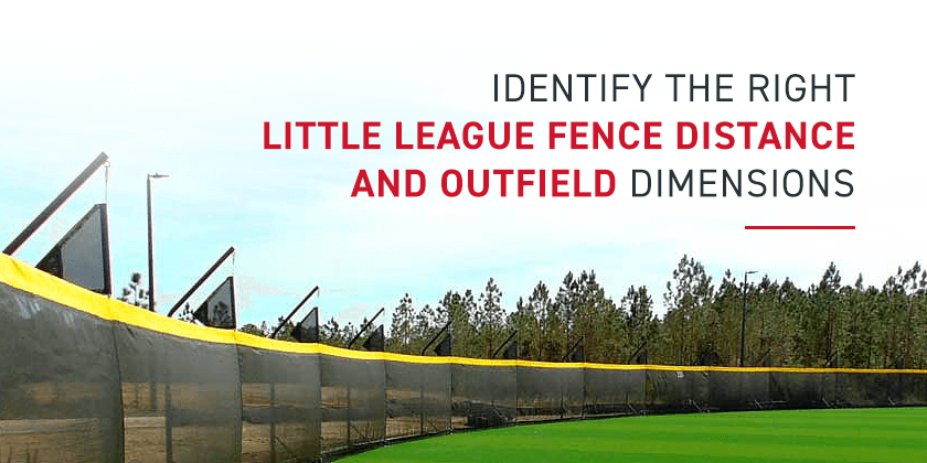 Little League Fence Distance