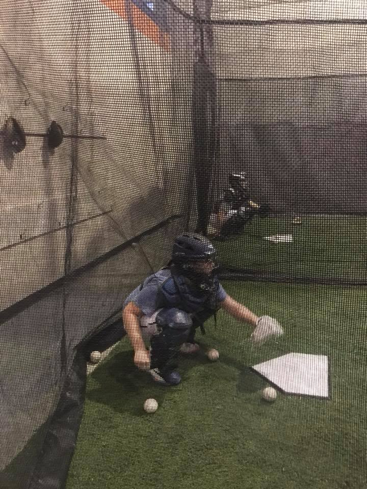 Indoor Batting Cage