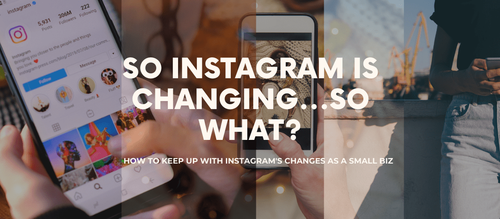 So Instagram is changing...So what?