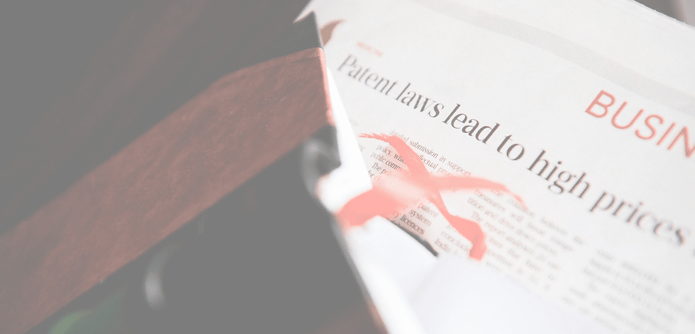 Newspaper with legal news