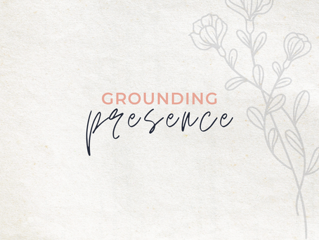 Grounding Presence | Run Your Race - Part One