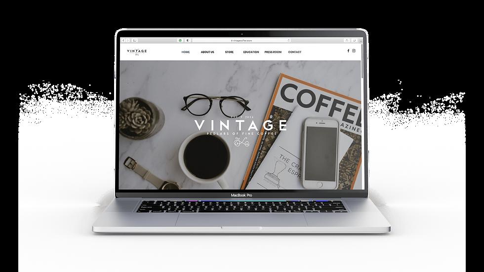 Vintage Website
