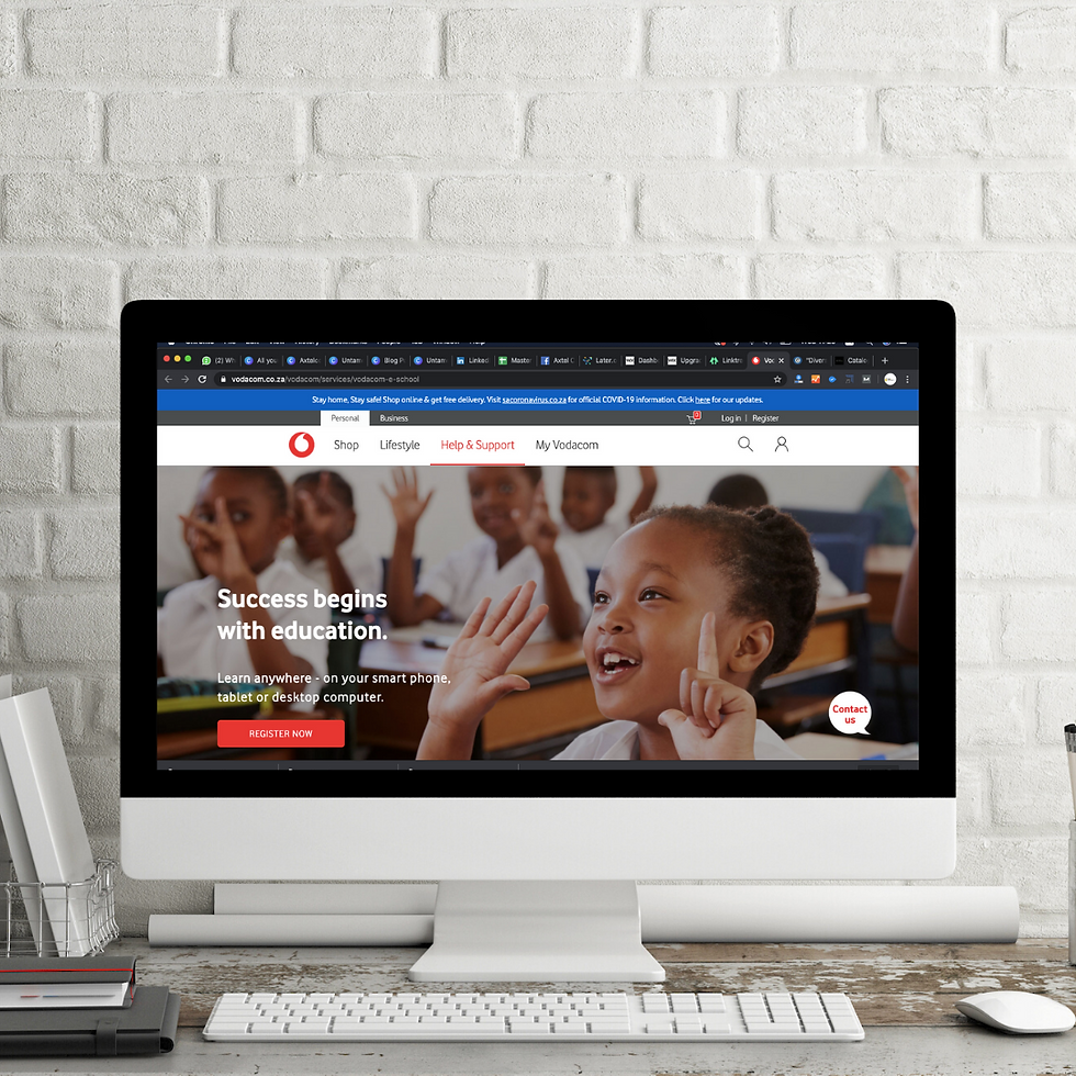 Vodacom E School - Free School Online