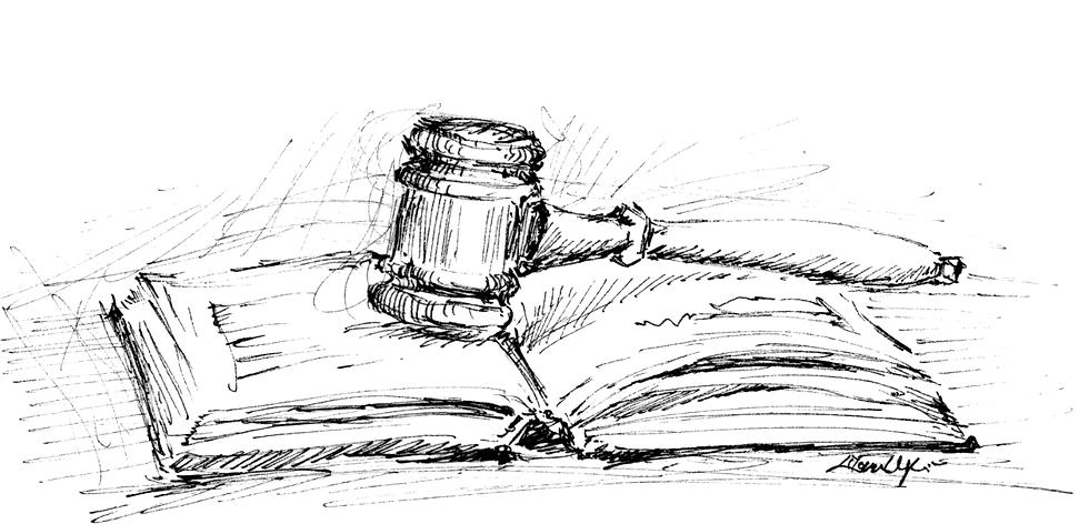 Gavel Illustration