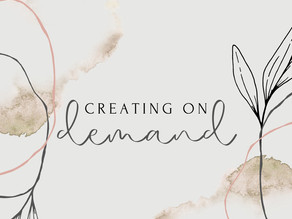 Creating on Demand (Part 1)