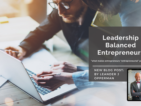 Leadership Balanced Entrepreneurs